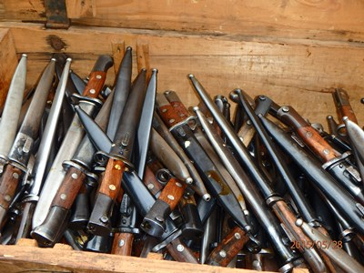 Crate of M48 Bayonets