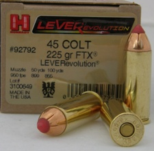 Winchester 45 Long Colt ammo