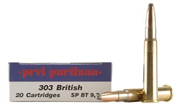 Prvi Partizan 303 Soft Point ammo