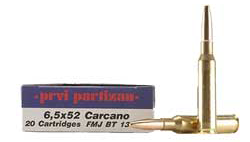 6.5mm Carcano soft point